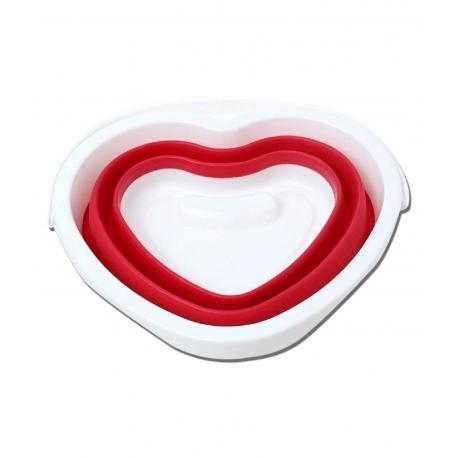 Skladacie vedro srdcový tvar