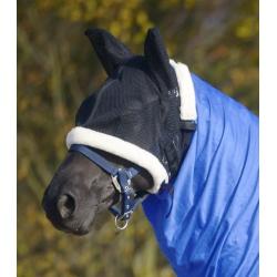 Ochranná maska pre citlivé kone