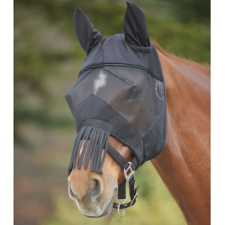 Maska proti hmyzu Premium s ušami a strapcami