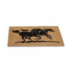 Rohožka s koňmi
