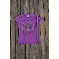 Originálne tričko ručne maľované
