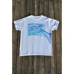 Originálne tričko ručne maľované PRIDE