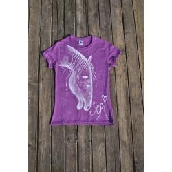 Originálne tričko ručne maľované SEPI