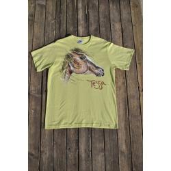 Originálne tričko ručne maľované TESSA 2