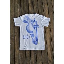 Originálne tričko ručne maľované VENŤO 1