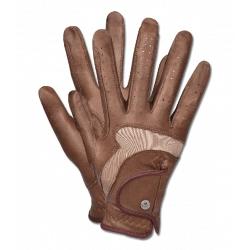 Jazdecké kožené rukavice Premium