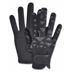 Jazdecké rukavice Metropolitane Reflective SKLADOM