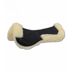 Sedlová podložka s ovčou kožušinou