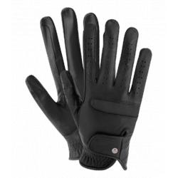 Jazdecké kožené rukavice Deluxe
