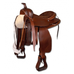 """Westernové sedlo pre veľké kone 16""""/40 cm"""