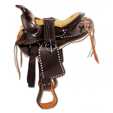 Westernové sedlo Round Skirt Bonanza