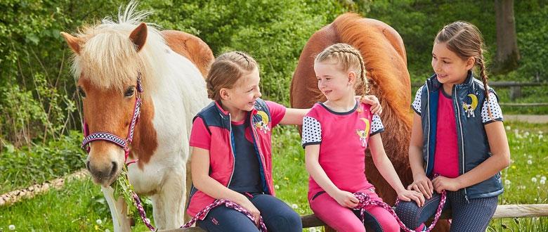 Séria jednorožec pre deti a ich koníky.